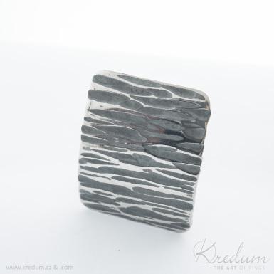 Kovaná nerez spona - Mistr 3,5X - Kant - SK4091