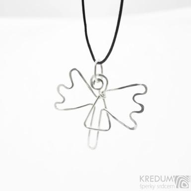 Anděl - Stříbrný přívěsek - SK3778