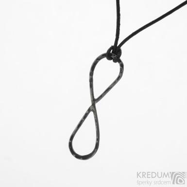 Nekonečno - stříbrný přívěsek s patinou - SK3786
