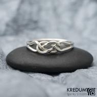 Kuplung Silver - Stříbrný prsten