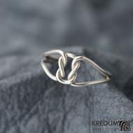 Reverse Silver - Stříbrný prsten