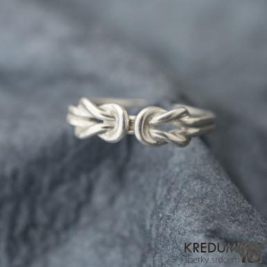 Twins Silver - Stříbrný prsten