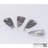 Trsátko ocel nerez kov - Long - lícová (přední) strana