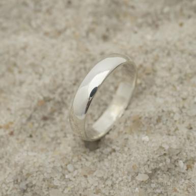 Klasik silver - stříbrný snubní prsten