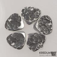 Trsátko ocel nerez kov - Klasik mini - přední (lícová) strana