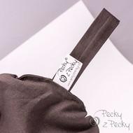Skořicový Termo peckový polštářek - Hnědý bochánek