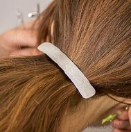 Kovaná damasteel spona do vlasů - Natura Holde
