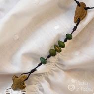 Přívěsek - Peckový růženec velký