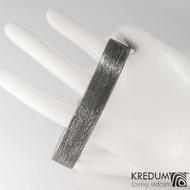 Kovaný damasteel náramek - GLINT, produkt č. 1875