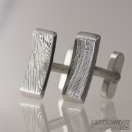 Kované manžetové knoflíčky damasteel - GLINT