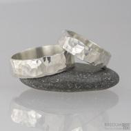 Stříbrné snubní prsteny Draill silver (8)