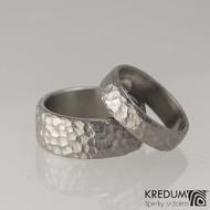 Prsten kovaný - Klasik Maro titan