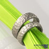 Prsten kovaný - Klasik Marro titan