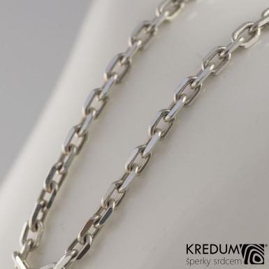 Stříbrný řetízek - Ankr FD 80