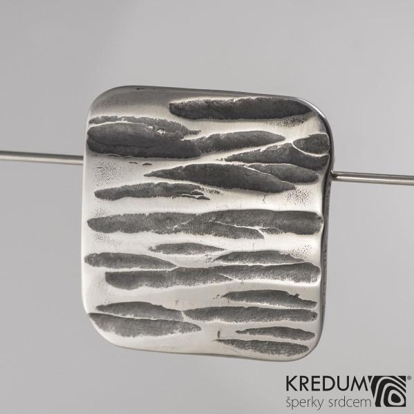 Kovaná nerez spona - Kavalír 3X - Kant