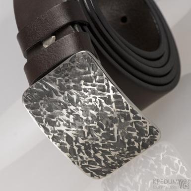 Kovaná nerez spona - Mistr 3,5X - Archeos