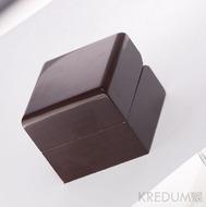 Dřevěná leštěná krabička  - Block image single