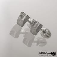 Kované damasteel náušnice - Roníčky, produkt č. 2010