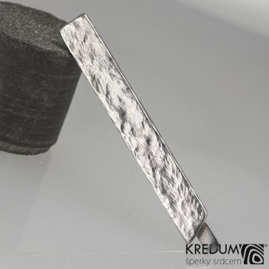 Rockboy - Kovaná nerezová spona na kravatu