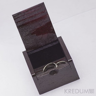 Dřevěná krabička z cizokrajného dřeva - Slon