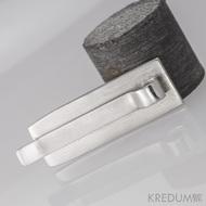 Kovaná spona na kravatu damasteel - Masiv - produkt č. 1308