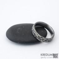 Archeos 52,5 + CF 4,6 1,5 - Nerez snubní prsteny SK1302 (2)