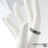 Archeos 52,5 + CF 4,6 1,5 - Nerez snubní prsteny SK1302 (3)