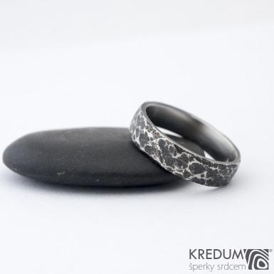 Archeos 52,5 + CF 4,6 1,5 - Nerez snubní prsteny SK1302