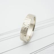 Archeos snubní prsten gold white (3)