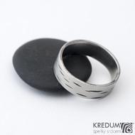 Betula - 65 6,9 1,3 - Nerez snubní prsten sk1305 (2)