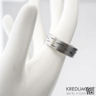 Betula - 65 6,9 1,3 - Nerez snubní prsten sk1305 (3)