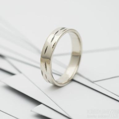 Betula snubní prsten gold white (2)