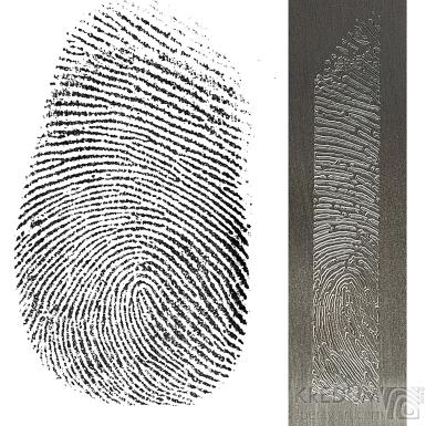 Rytí otisků prstů