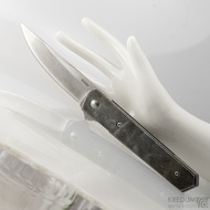Zavírací nůž Böker Plus custom damasteel, S1876