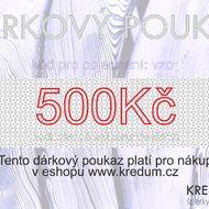 Dárkový poukaz - částka na přání - minimální hodnota je 500 Kč