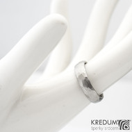 Klasik Draill - Kovaný prsten z nerezové oceli, SK1158