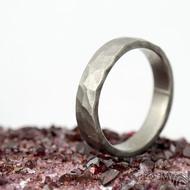 Draill titan matný - velikost 61, šířka 5 mm, tloušťka 1,8 mm - Kovaný prsten, SK2120 (3)