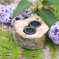 Dřevěná aranžovací miska na snubní prsteny - Buk - SK2091 (4)