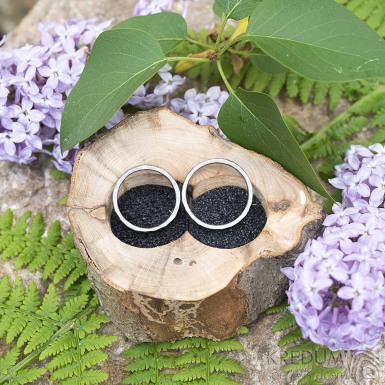 Dřevěná aranžovací miska na snubní prsteny - Buk - SK2091