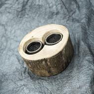 Dřevěná aranžovací miska na snubní prsteny - Jasan - SK2057 (4)