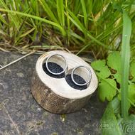 Dřevěná aranžovací miska na snubní prsteny - Jasan - SK2057 (5)
