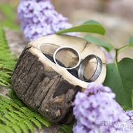 Dřevěná aranžovací miska na snubní prsteny - SK2054 (6)