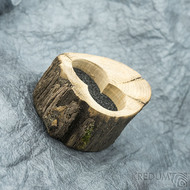 Dřevěná aranžovací miska na snubní prsteny - SK2054