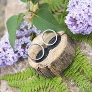 Dřevěná aranžovací miska na snubní prsteny - SK2056 (5)