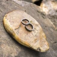 Dřevěná aranžovací podložka na snubní prsteny - Jehličnaté dřevo - SK2094 (4)