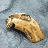 Dřevěná aranžovací podložka na snubní prsteny - Jehličnaté dřevo - SK2095 (5)