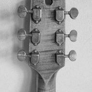 Zakázková kytara Les Paul Fišer KREDUM