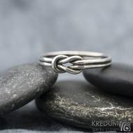 Marge Silver patina - Stříbrný prsten