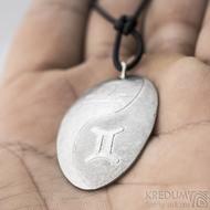 Sekční lept - plastický obraz do nerezové oceli- váhy/blíženci