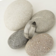 Fici titan - velikost 57, šířka 5 mm, povrch matný - hrubě matný - Titanový prsten - sk2222 (2)